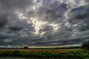 grand ciel gris photo