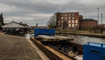 barge de travail ouverte photo