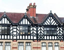 façade du bâtiment Tudor photo