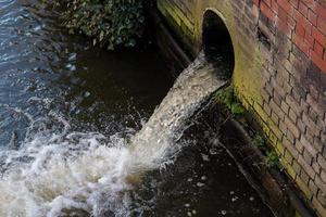 un drain d'eau photo