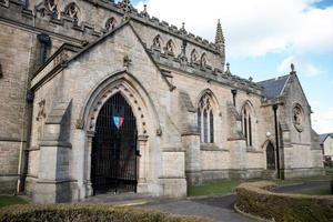 l'entrée de l'église photo