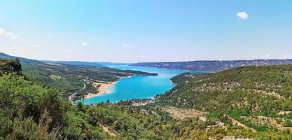gorge du verdon lago di sainte croix photo