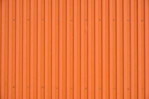Arrière-plan et texture rayée de ligne de conteneur orange photo