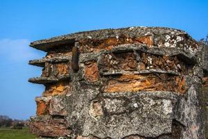 érosion de la brique zéro photo