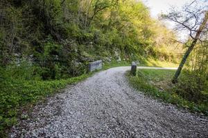 2021418 Castelgombertoold route militaire avec pont photo