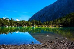 splendide lac de Sorapis photo