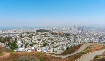 Skylines et rues de san francisco photo