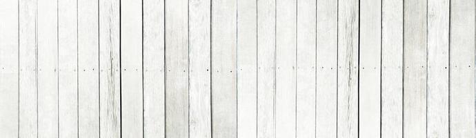 le vieux fond de texture de lattes de bois blanc photo