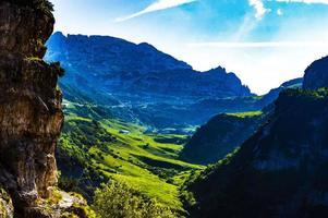 vallée sous le mont carega photo