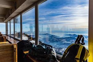 vue sur les montagnes de l'intérieur photo