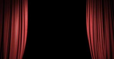 fond de rideau de scène rouge avec espace de copie photo