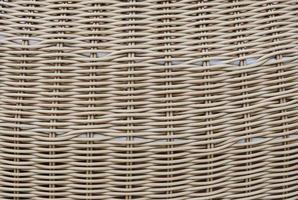 fond de texture de tissage en bois photo