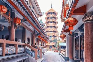 Che chin khor temple et pagode à bangkok photo