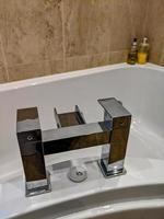 robinets de bain et chromés photo