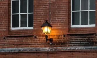une lumière orange photo