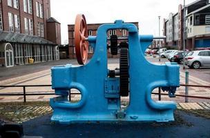 machine bleu vif photo