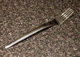 petite fourchette en métal photo