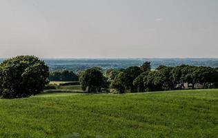 Prairie de Lancashire d'été photo