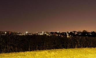 la ville la nuit photo