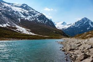 glacier en norvège photo