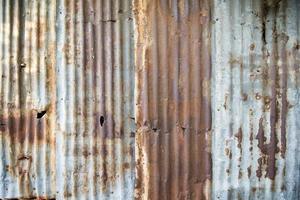 vieux fond de mur en métal photo