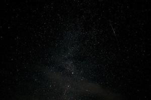 fond d'écran ciel étoilé et météorite et nébuleuse photo
