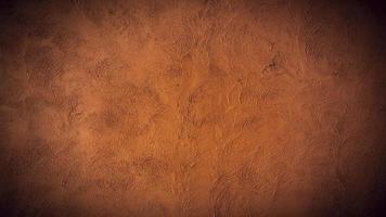 stuc mural vintage en brun rouge photo