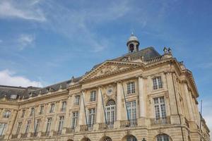 bâtiments dans le centre historique de bordeaux, france photo