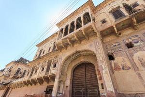 Haveli à Mandawa, Rajasthan, Inde photo