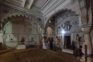 Palais de la ville de Karauli, Rajasthan, Inde photo