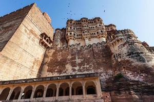fort de jodhpur au rajasthan, inde photo