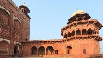 Bâtiments au Taj Mahal à Agra, Uttar Pradesh, Inde photo