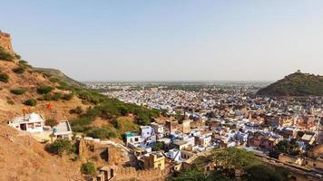Avis de Bundi au Rajasthan, Inde photo
