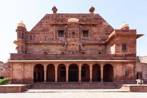 Pokhran fort au Rajasthan, Inde photo