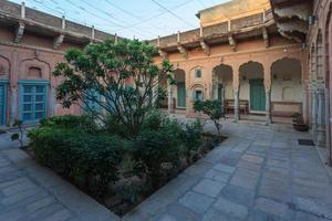 Haveli à Churi Ajitgarh, Rajasthan, Inde photo