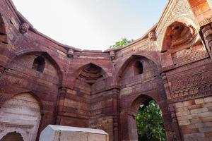 Tombeau d'iltutmish new delhi inde photo