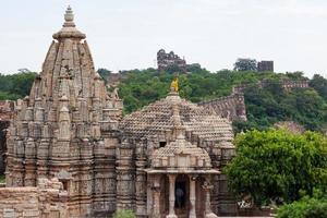 Fort de Chittorgarh au Rajasthan, Inde photo