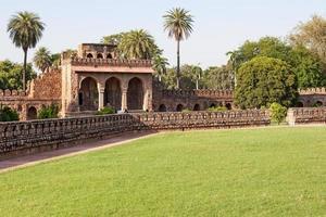 Mosquée isa khans à new delhi, inde photo
