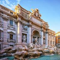 fontaine de trevi à rome photo
