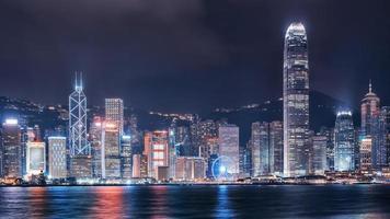 port de victoria à hong kong photo