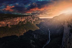 canyon du verdon près de castellane en provence france photo