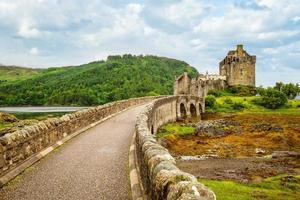 Château d'Eilean Donan à Western Highlands of Scotland UK photo