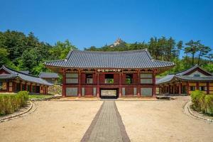 singyesa est un temple bouddhiste coréen en Corée du Nord photo