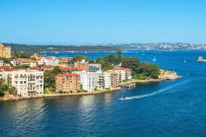 Kirribilli Point banlieue de Sydney Australie photo