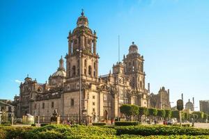 cathédrale métropolitaine de la ville de mexique au mexique photo