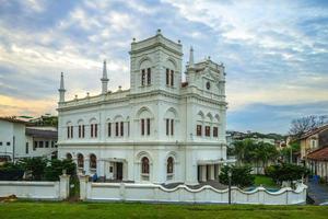 mosquée meeran jumma à galle fort sri lanka photo