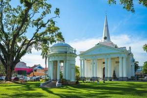 L'église St Georges dans la ville de George Penang Malaisie photo
