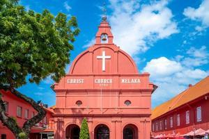 Église du Christ et place hollandaise à Malacca Melaka photo
