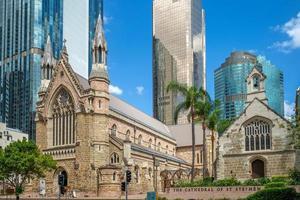 Cathédrale de St Stephen à Brisbane Australie photo