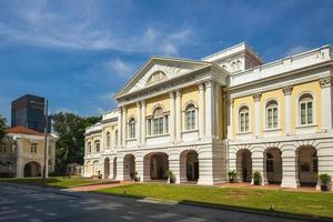 maison des arts, l'ancienne maison du parlement à singapour photo
